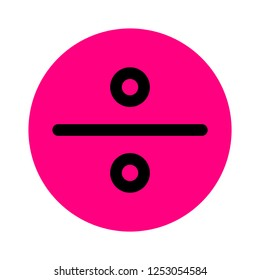 division sign symbol