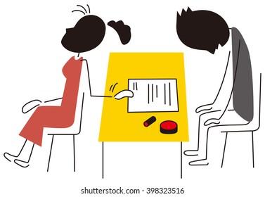 Divorce registration