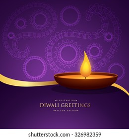 Set indian festival diwali greeting cards stock vector royalty free diwali ethnic greeting vector background design m4hsunfo