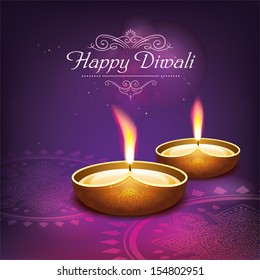 Diwali graphic design. Come with layers.