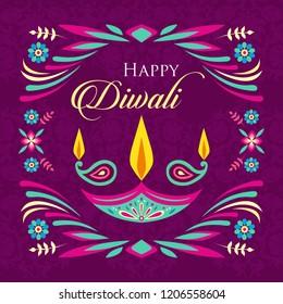 Diwali greetings design for deepawali Wishes