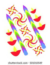 Diwali Pattern Design