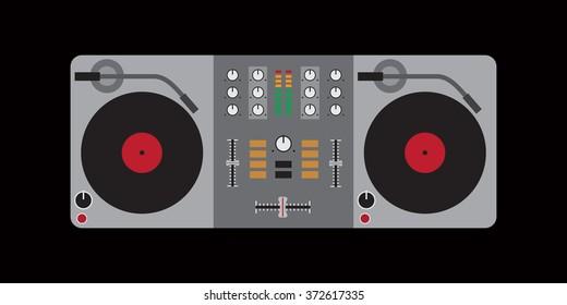Dj Mixer Images, Stock Photos & Vectors | Shutterstock