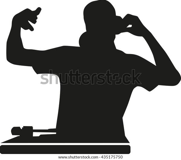 DJ-Silhouette