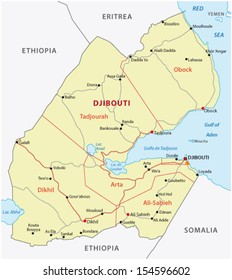 Map Of Djibouti Images Stock Photos Vectors Shutterstock