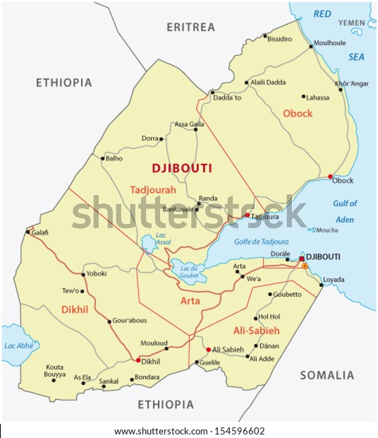 Djibouti Road Map Stock Vector (Royalty Free) 154596602 on map of swaziland, map of lebanon, map of niger, map of palestine, map of senegal, map of the gambia, map of eritria, map of africa, map of ethiopia, map of abidjan, map of kuwait, map of mauritius, map of cape verde, map of eritrea, map of mali, map of burundi, map of bangladesh, map of qatar, map of lesotho, map of egypt,