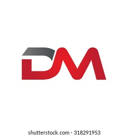 DM company group linked letter logo