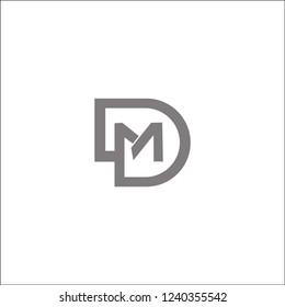 DM creative logo icon