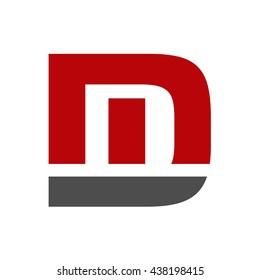 Dm initial logo - MD initial logo