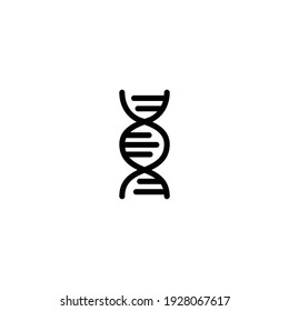 Dna icon vector for web, computer and mobile app