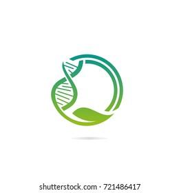 DNA Logo Vector Eps 10