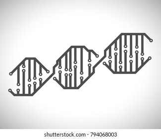 DNA made from printed circuit board