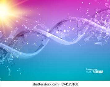 DNA molecules of poligons.