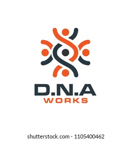 DNA Symbol Genetic Biotech Work