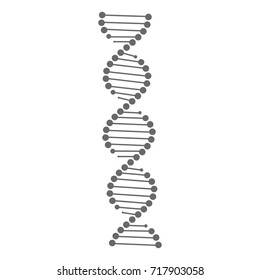 DNA vector. DNA icon