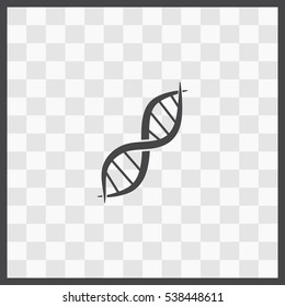 DNA vector icon. Isolated illustration. Business picture.