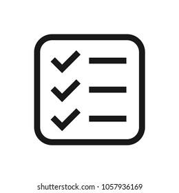 To Do List Tick icon