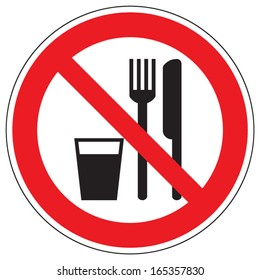 Do not eat and drink