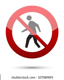 image regarding Authorized Personnel Only Sign Printable called No Accessibility Indicator Visuals, Inventory Illustrations or photos Vectors Shutterstock