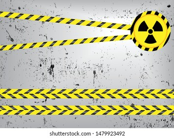 Do not pass background In a straight line, yellow, alternating with black