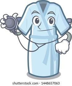 Doctor bathrobe in the a cartoon shape