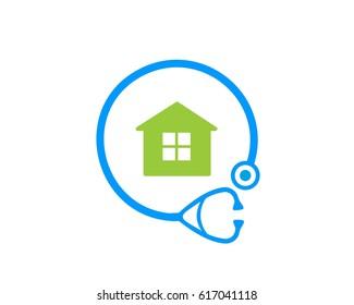 Doctor home logo