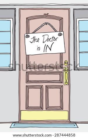sign for office door