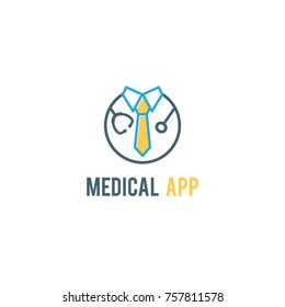 Doctor Logo Medical Icon App Icon
