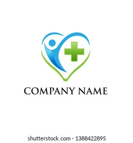 doctor logo, medicine logo, medical icon. Logo design template for clinic, hospital