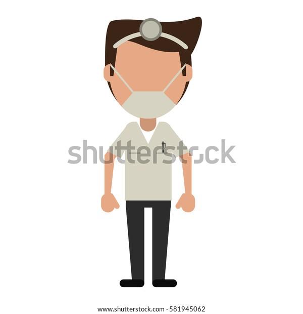 doctor specialist mask medical