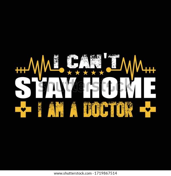 Im Doctor Tshirt Design Nurse Tshirt Stock Vector Royalty Free 1719867514
