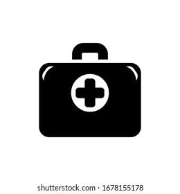 doctors bag icon design vector template