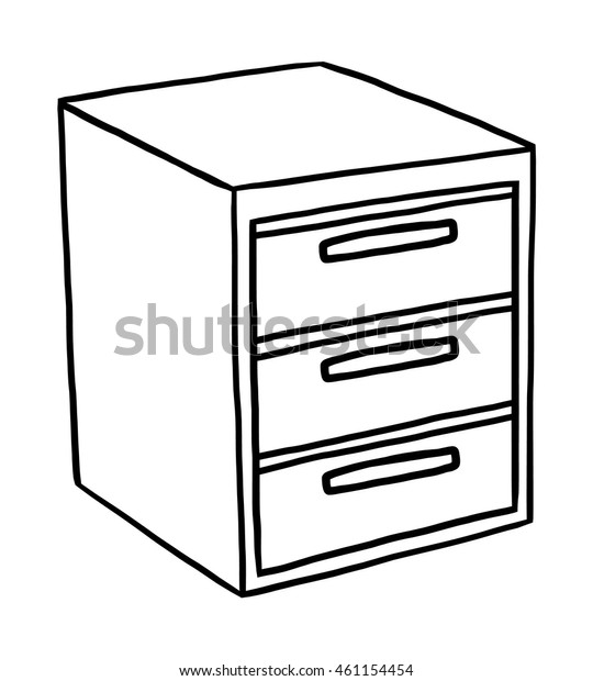 26+ Cabinet Cartoon Black And White Pictures