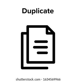 document copy or archive or copy-paste icon vector. perfect copy-paste   symbol. beautiful copy-paste   element. web design and mobile design. premium quality element-vector.