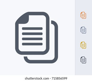 Document Copy - Carbon Icons. A professional, pixel-aligned icon.