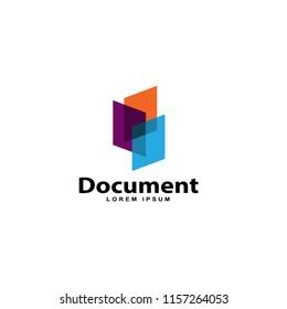 document design vector template