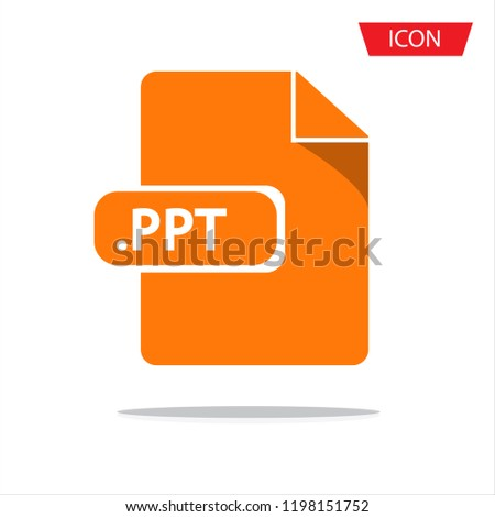 document file formats icon vector isolated stock vector royalty