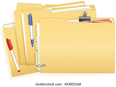 Document file stack.