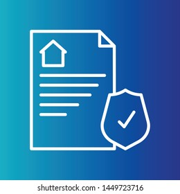 Document icon, property Document, paper, home Document you use your project.
