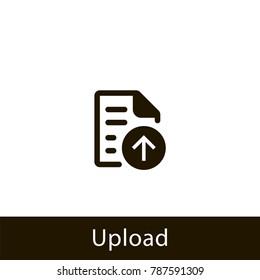 document icon. upload document. sign design