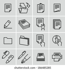 Document icons Strokes not expanded. Outlines not converted to objects.