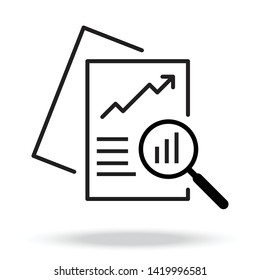 Document like auditing. concept of auditor, fax, seo, scrutiny, annual verification, evaluation, info, growth, forecast.