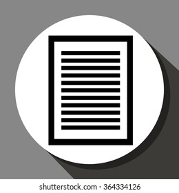 Document or sheet icon