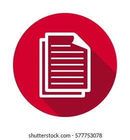 Documents icon. Documents icons universal set for web and mobile