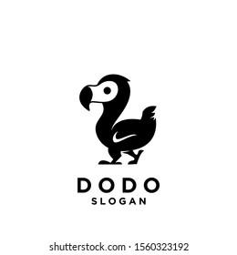 dodo bird logo icon design vector illustration