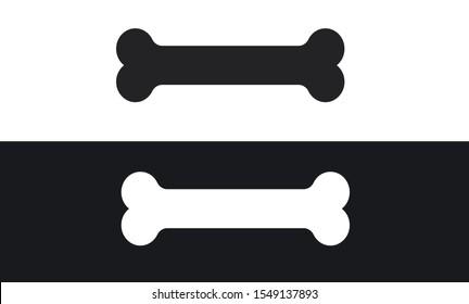 Dog Bone Icon Vector Illustration