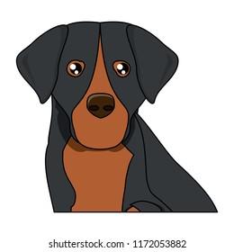 Dog breeds design