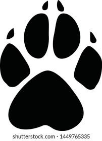 dog cat bear wolf wild animal paw