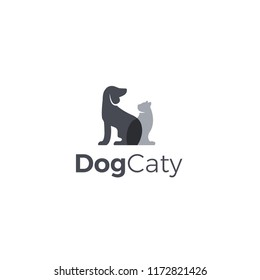 Dog and Cat Logo Vector Download