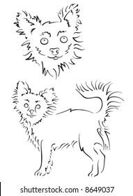 Dog design set